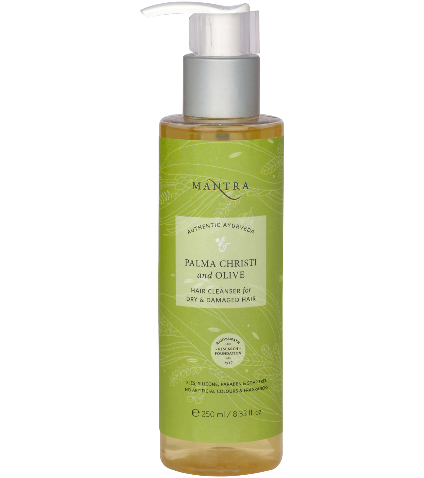Palma Christi and Olive Hair Cleanser for Dry & Damaged Hair