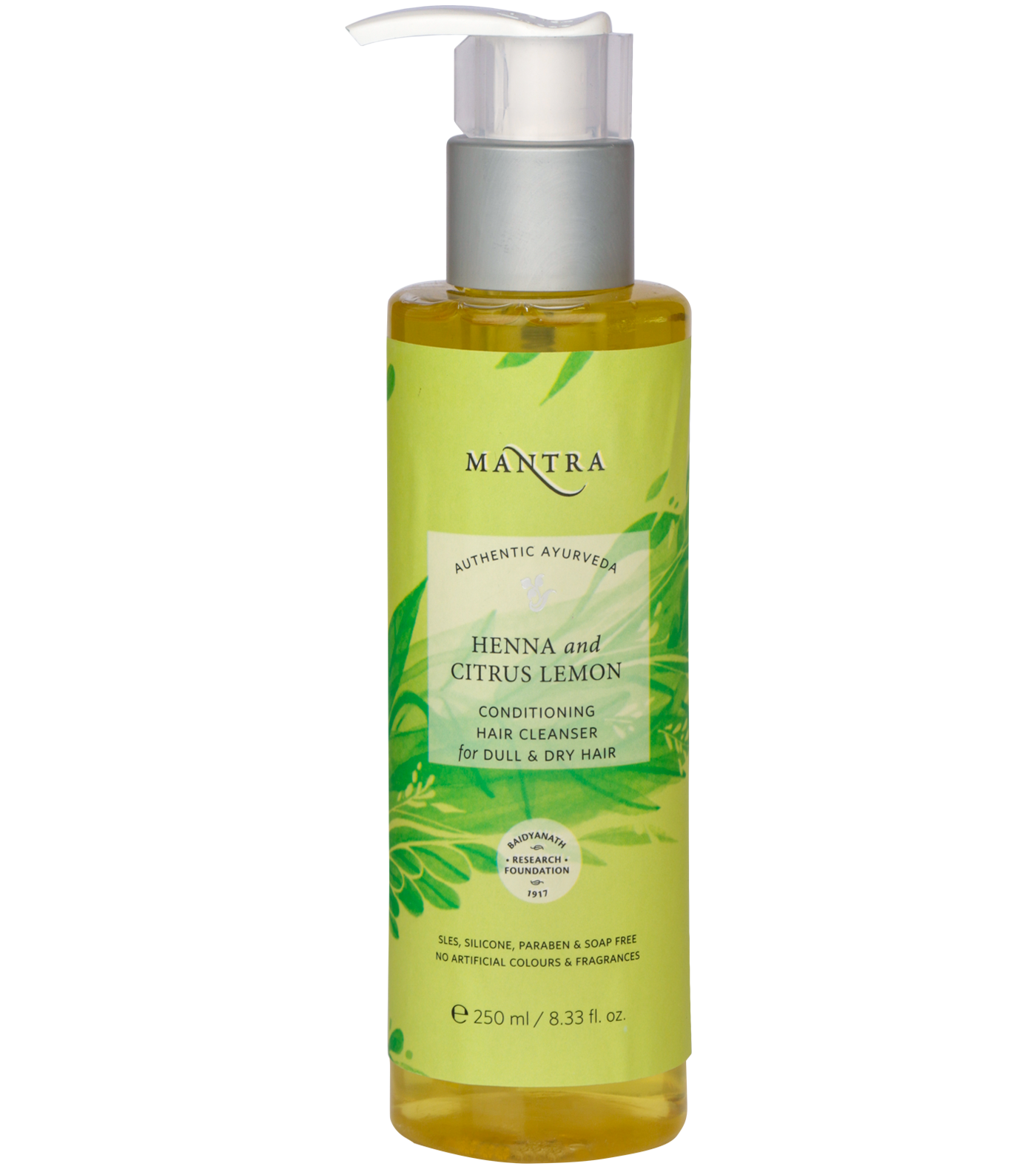 Henna and Citrus Lemon Conditioning Hair Cleanser for Dull & Dry Hair