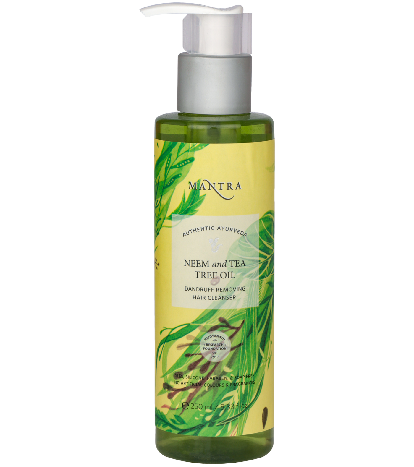 Neem and Tea Tree Oil Dandruff Removing Hair Cleanser